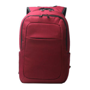 Rote Farben-Arbeitsweg-Geschäfts-Notebook-Computer-Laptop-Rucksack-Beutel