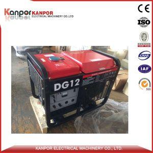 11kw 60Hz de Open Diesel Genset van het Type met Wielen en Handvat