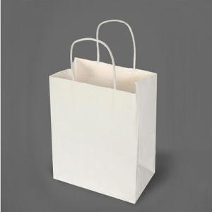 백색 종이 봉지를 만드는 식료품류 기계