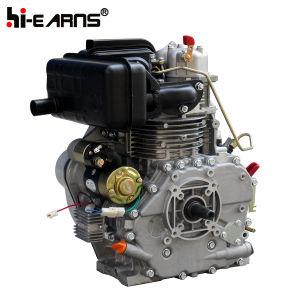 테이퍼 샤프트와 솔레노이드 벨브 연료 펌프 (HR186FAE)를 가진 디젤 엔진