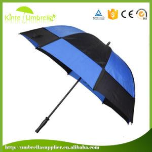 30インチの二重層は耐候性があるゴルフ傘をカスタム設計する