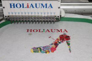 Holiauma 단 하나 헤드 15 바늘 3D 모자에 의하여 전산화되는 자수 기계