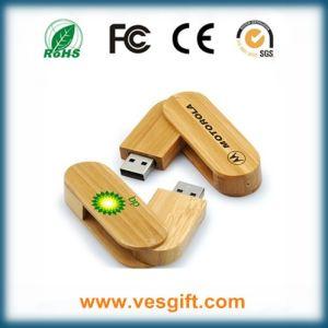 Верхняя Промо-сувениры экологически чистые деревянные USB Stick оптовая торговля
