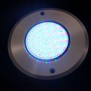 indicatore luminoso subacqueo della piscina di spessore 280mm 18watt DC12V RGB LED di 8mm