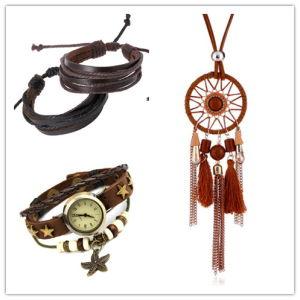Monili stabiliti di vendita di modo della collana del braccialetto dell'anello caldo degli orecchini