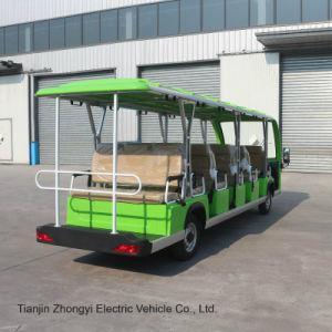 Ácido Bateria 17 lugares Movimentador pessoas eléctrico aprovado pela CE