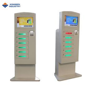 Stazione di carico del telefono delle cellule/chiosco di carico telefono mobile con gli armadi di Digitahi