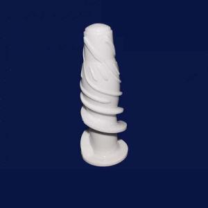 Pompa di ceramica dell'asta cilindrica della ventola di Zirconia Ivory Polished fine di elevata purezza
