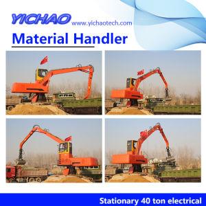 La excavadora hidráulica Multi-Buckets línea máquina de fabricación de ladrillos de arcilla