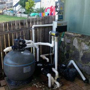 900W 1HP BLDC 순환을%s 태양 수영풀 펌프 시스템, Anti-Chlorine