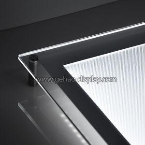 極度の大きいアクリルLEDのライトボックスLEDの細いライトボックス