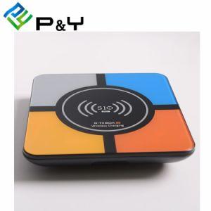 R-TV Kasten S10 plus Rk3328 4GB 32GB Android 8.1 Fernsehapparat-Kasten mit Radioapparat-aufladendem gesetztem Spitzenkasten