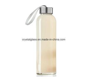18oz wasserundurchlässige Glasflaschen, Juicing Behälter, Wasser/Getränkeflaschen