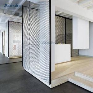 Personnaliser la 3D'aluminium ondulé maille écran