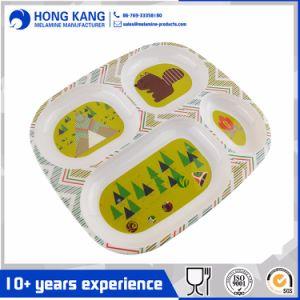 Horarios de comidas del bebé de la placa de la Sección de melamina de impresión