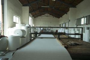 Толщина 8 мм Meta-Aramid слайд воздуха ткань ремня транспортера используется в цементного завода