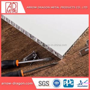 軽量の高い剛性率の展覧会のボードのためのアルミニウム蜜蜂の巣のパネルに塗る粉