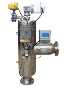 수직 자동 세척 물 솔 /Suction 필터 시스템