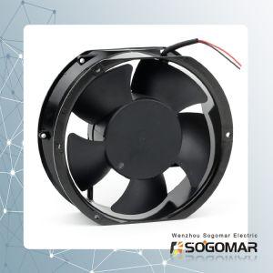 Бесщеточный двигатель постоянного тока панели управления электровентилятора системы охлаждения двигателя 172X150X51мм с низким уровнем шума