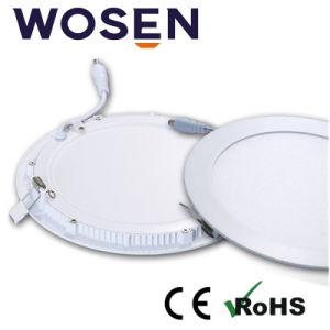 9W de luz LED panel redondo para el hogar con Ce aprobó