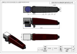 표하기 높은 정밀도를 가진 기계에 의하여 사용되는 광학적인 Laser 헤드