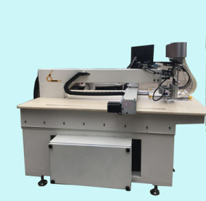 Ronda padrão computadorizado de alta qualidade Pearl Máquina de fixação do cordão