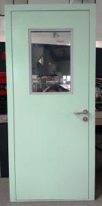 L'extérieur salle propre de rinçage en acier Portes de l'atelier pour les industries pharmaceutiques