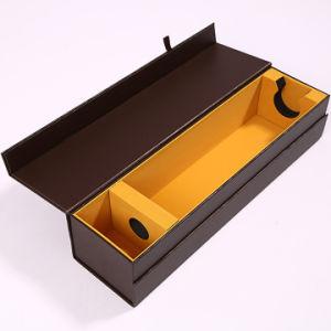 Настраиваемые магнитное закрытие бумага картон вино упаковка Подарочная упаковка