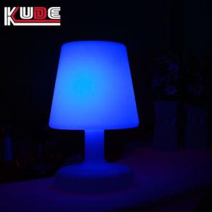La decoración de bodas LED Lámpara de mesa de luz LED inalámbricas