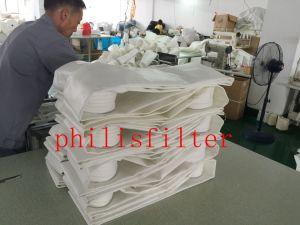 Не из промышленных полиэстер игольчатый перфорированного салфетки для очистки фильтра мешок для сбора пыли