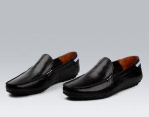 Slip-on 싼 게으름뱅이 우연한 스케이트 아이 가죽 신발을 주문을 받아서 만드십시오
