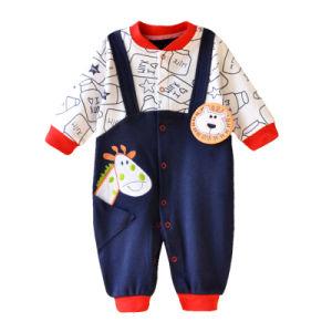 Baby Boy Comper la ropa de bebé lindo Animal patrón ropa Jumpsuit de dibujos animados