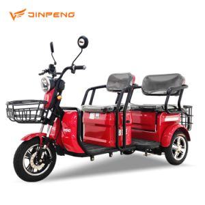 Os veículos eléctricos ecológicos Jinpeng, triciclos eléctricos com motor silencioso, Moda excelente, utilizados como dons para idosos