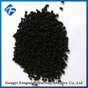 doordrong KOH van het Hydroxyde van het Kalium van de Korrel van 4mm Zuilvormige Op kolen gebaseerde Geactiveerde Koolstof