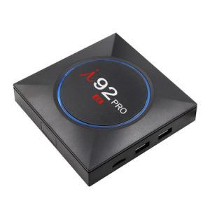 I92 PROAndroid IPTV Fernsehapparat-Kasten mit Felsen-Chip Rk3229 Blitz-Support 4K, WiFi, intelligenter Fernsehapparat-Kasten CPU-2GB RAM/16GB