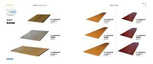Ligne de vente chaude plinthes en bois panneaux composites en plastique (AA81)