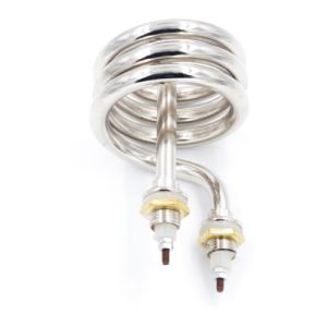1000ワットのボイラーヒーターのステンレス鋼の螺線形のタイプ水発熱体