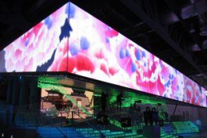 Outdoor pleine couleur Grand affichage sur le mur de l'écran LED