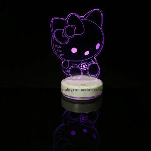 Acryl-LED-Licht, Katze-Geformt