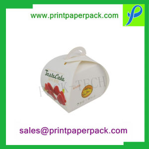Biodegradable costumbre llevar envases de comida rápida Caja de regalo, cajas de pastel de papel