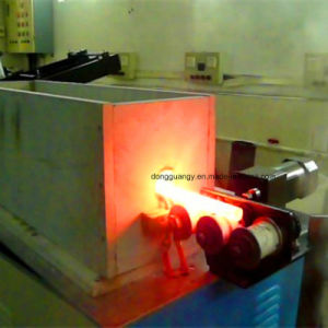 中間周波数の鋼鉄棒の鍛造材機械