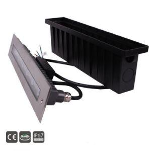 Im Freien LED Tiefbauwand Light&Lamp des Edelstahl-IP67