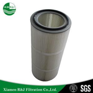 Fibra de vidro do filtro da cabine de spray de tinta do cartucho do filtro de ar