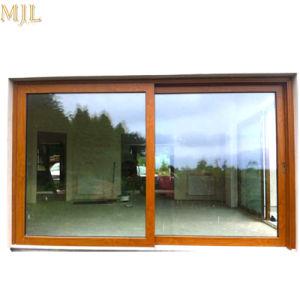 L'americano progetta il portello di vetro di legno composito di alluminio scorrevole di vetro di stile