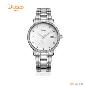 3ATM impermeabilizzano gli orologi casuali di immaginazione del Mens dell'acciaio inossidabile dei diamanti della vigilanza