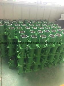 Teste do cilindro de separação de concreto o Molde