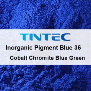 Anorganisch Blauw Pigment 36 voor Plastiek (Blauwgroene het Chroomijzersteen van het Kobalt)