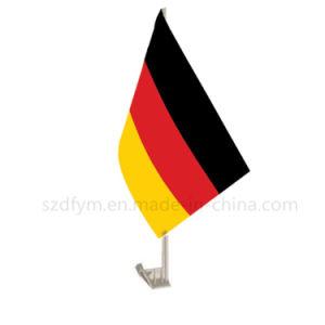 De Vlaggen van de Auto van Duitsland van de Polyester van 100% voor Bevordering