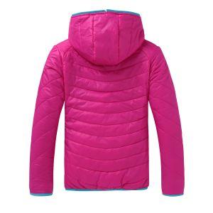 Hydrofuge truqué vers le bas de femmes Vêtements de dessus la veste d'isolement personnalisé