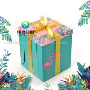 2018 Afdrukkende Cake van de Luxe van de Douane Buitensporige Diverse en de Verpakkende Doos van het Karton van de Gift